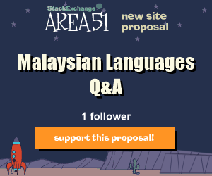 Stack Exchange Q&A site proposal: Malaysian Language