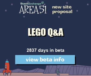 Stack Exchange Q&A site proposal: LEGO