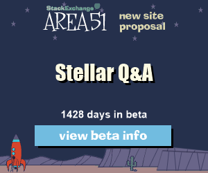 Stack Exchange Q&A site proposal: Stellar