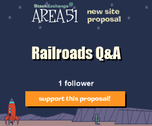 Stack Exchange Q&A site proposal: Railroads