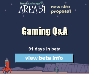 Stack Exchange Q&A site proposal: Gaming (Arqade)