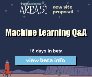 Stack Exchange Q&A site proposal: Machine Learning