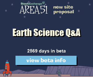 Stack Exchange Q&A site proposal: Earth Science