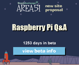 Stack Exchange Q&A site proposal: Raspberry Pi