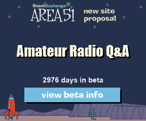 Stack Exchange Q&A site proposal: Amateur Radio