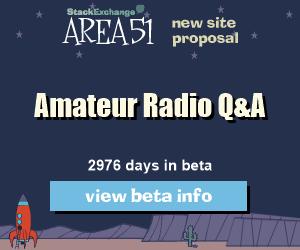 Stack Exchange Q&A site proposal: Amateur Radio