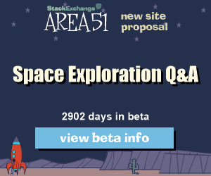 Stack Exchange Q&A site proposal: Space Exploration