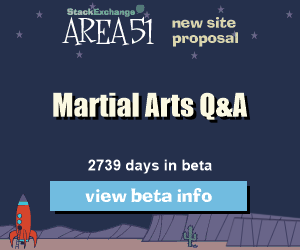 Stack Exchange Q&A site proposal: Martial Arts