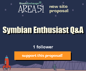 Stack Exchange Q&A site proposal: Symbian Enthusiast