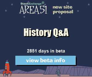 History Q&A site