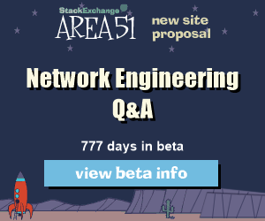 Stack Exchange Q&A site proposal: Network Engineering