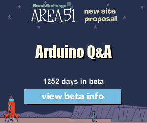 Stack Exchange Q&A site proposal: Arduino