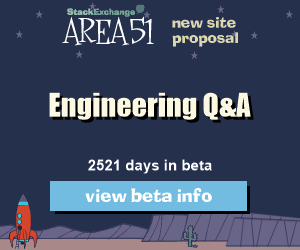 Stack Exchange Q&A site proposal: Engineering