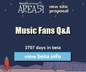 Stack Exchange Q&A site proposal: Music Fans
