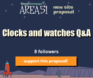 Stack Exchange Q&A site proposal: Clocks and watchesAntiques & Collections