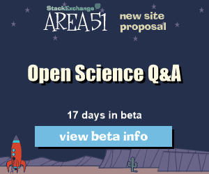 Stack Exchange Q&A site proposal: Open Science