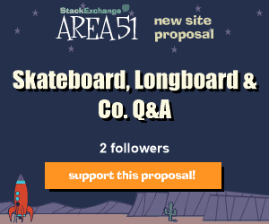 Stack Exchange Q&A site proposal: skateboard