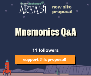 Stack Exchange Q&A site proposal: Mnemonics