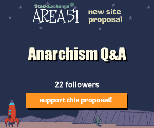 Stack Exchange Q&A site proposal: Anarchism