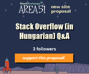 Stack Exchange Q&A site proposal: Stack Overflow (in Hungarian)