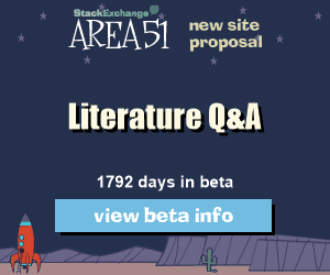 Stack Exchange Q&A site proposal: Literature