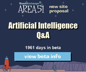Stack Exchange Q&A site proposal: Artificial Intelligence